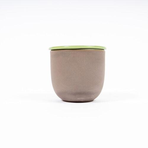 Mate Bewahrungsdose aus Keramik seitlich